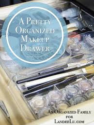 diy bathroom organization ideas how to organize your makeup drawer and make it pretty