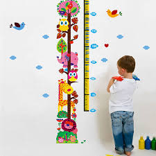 70 Extraordinary Childrens Height Chart Stickers