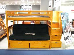 wooden loft bed with desk loft bed with futon and desk futon bunk beds twin over