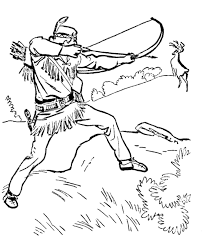 Small Picture The Lone Ranger and Tonto Coloring Page sheets Tonto hunting a