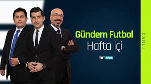 """TRT Spor on Twitter: """"Milli aranın ardından Spor Toto Süper Lig'in heyecanı  kaldığı yerden devam ediyor. Takımlardan son gelişmeler ve canlı  bağlantılarla Gündem Futbol saat 16.40'ta TRT SPOR'da…  https://t.co/etRooXnpT8"""""""