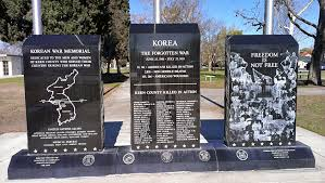 Image result for the korean war memorial