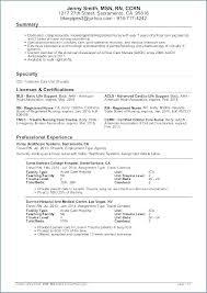 Graduate Nurse Resume Examples New Graduate Resume New Graduate