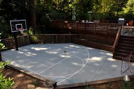 backyard ideas basketball court. backyard basketball court ideas photo 6 b