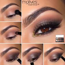 smokey eye makeup tutorial for brown eyes with maa