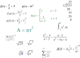 math equations pictures