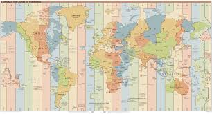 Time Map Time Zone Wikipedia