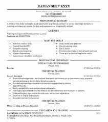 Dentist Resume Simple Dentist Resume Sample Dental Resumes LiveCareer