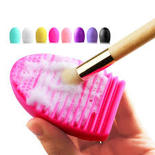 silicone makeup brush cleaner. new silicone makeup brush cleaning washing tools cosmetics brushes scrubber board cosmetic cleaner tool 1pc-in underwear from mother o