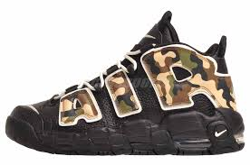 Details About Nike Air More Uptempo Qs Gs Running Kids Youth Shoes Black Sail Cj0930 001