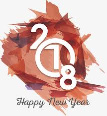 happy new year png. Unique Png Red Shading Brush 2018 Poster Vector Png Happy New Year White PNG Intended Year Png P