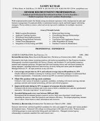 ... free resume search for recruiters resume template