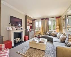 White Corner Sofa Living Room Design Ideas Photos Inspiration