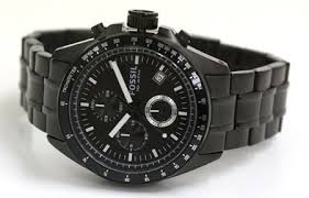 wrist watch area fossil chronograph review fossil watch ch2601 decker chronograph black dial stainless steel for men