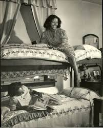 howard university freshman rose esters a history major and sarah vintageblackglamour ldquo howard university students photographed in their dorm by life magazine s alfred eisenstaedt for a 1946 photo essay