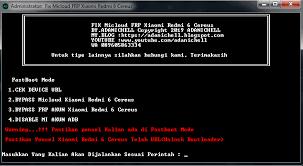 3.klik tombol select kemudian arahkan ke folder file micloud. Remove Mi Cloud Mi Frp Account Redmi 6 Cereus Adanichell Software Hardware