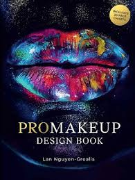 Wh Smith Paperback Chart Promakeup Design Book Includes 30 Face Charts