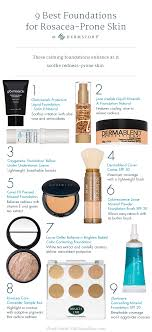 best foundations for rosacea derm