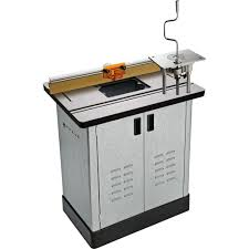 bench dog router table. bench dog cast iron router table, pro lift, fence, \u0026 steel cabinet - amazon.com table o