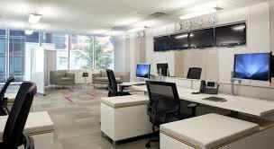 office design photos. Office, Captivating Home Office Ideas White Desk Black Swivelchair Ceramic Floorin Gtile Wall Design Photos \