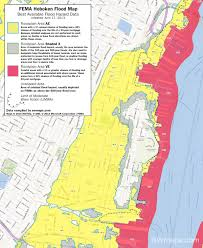 new hoboken flood map fema best available flood hazard data