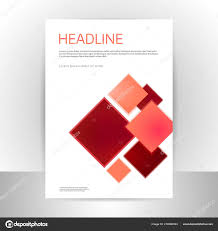 Brochure Graphic Design Background Abstract Vector Brochure Template Design Background Stock