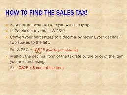 8 25 Tax Chart Texas Solving Problems Involving Discounts At Sales And Sales Tax