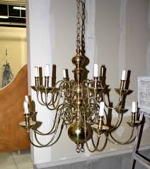 this was one large heavy duty beauty that i couldn t pass up and i knew exactly where it belonged and i will show you how an old 30 chandelier like