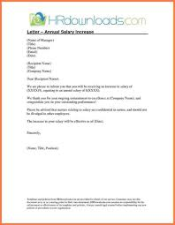 Raise Request Salary Increment Letter Format By Employer Copy 5 Template