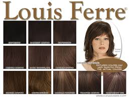 Louis Ferre Wigs Colorchart Canadawig Com Wigs And Hairpieces