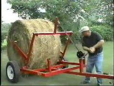 7 Best hay bale carts images | Hay bales, Straw bales, Welding