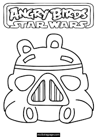 Small Picture angry birds star wars storm trooper pig printable coloring page