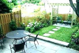 Small Backyard Landscape Designs Cool Tiny Patio Ideas Thegioidat