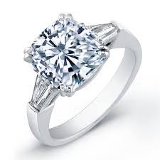 5 00 carat center cushion cut diamond engagement ring diamond