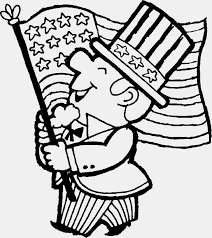 USA Flag Coloring Page and Her History for Students - Coloring Pages