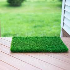 fake grass indoor. Modren Indoor Artificial Grass Doormat  Welcome Mat For Entrance Way Outdoors And  Indoors Fake Indoor