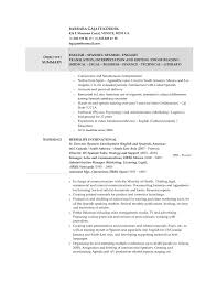 Medical Interpreter Resume 20 Awesome And Beautiful Barback Resume