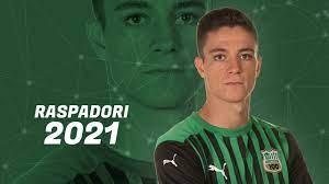 Giacomo Raspadori - Goals, Skills & Best Actions - 2021 - YouTube