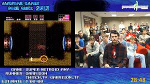 Super Metroid - Speed Run in 0:49:35 by Garrison Live for Awesome Games  Done Quick 2013 - YouTube