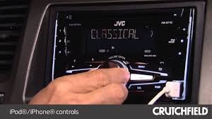 jvc kw r710 display and controls demo crutchfield video jvc kw r710 display and controls demo crutchfield video