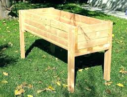 how to build a planter box with legs elevated garden beds on legs raised garden beds how to build a planter box