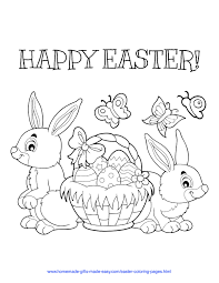 How can you not like all of those easter eggs and chocolate easter bunnies? 83 Best Easter Coloring Pages Free Printable Pdfs To Download