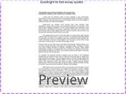 goodnight mr tom essay quotes custom paper service goodnight mr tom essay quotes quotation marks or inverted commas informally edexcel music gcse