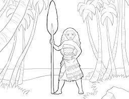 Moana Coloring Pages Printable Stealthy Coloring Pages Baby Moana