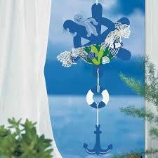 Fensterbild Bastelvorlage Maritimer Fang Fischer Fensterbilder