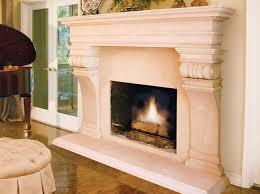 cast stone fireplace surroundantels