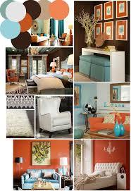 Orange And Brown Living Room Decor Useful Burnt Orange And Brown Living Room About Furniture Home