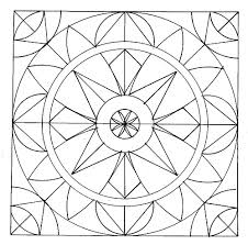 Small Picture simple geometric pattern coloring pages images about geo on