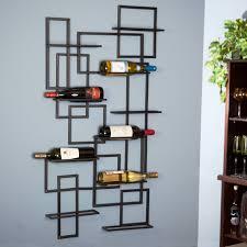 wall mounted metal wine rack. Hanging Metal Wine Rack Wall Mounted O