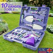10pcs gardening tools set gift garden